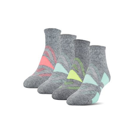 - Athletic Works Women's Wool Midcushion Ankle Socks, 4 Pairs