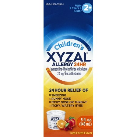 Xyzal Childrens 24 Hour Allergy Relief  5 Oz