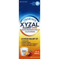 Xyzal Children's 24hr Allergy Relief Liquid, Tutti Frutti Flavor 5oz