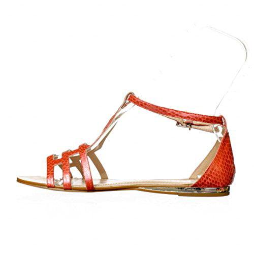 BCBGeneration Fabeena Open Toe Leather Gladiator Sandal