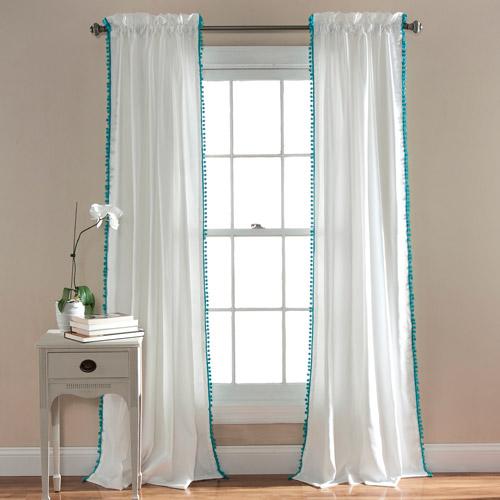 Pom Pom Window Curtains