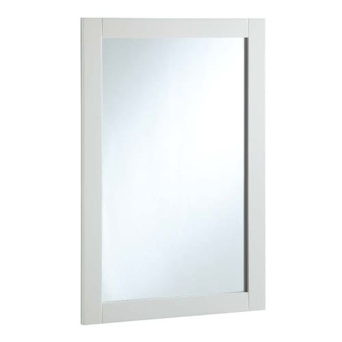 """Click here to buy Design House 547208 20"""" x 30"""" Vanity Mirror, Semi-Gloss White by Design House."""