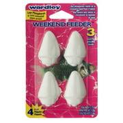 Wardley Shells Weekend Feeder, 4 ct