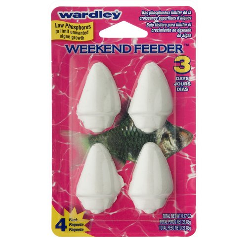 Wardley Shells Weekend Feeder, 4 ct