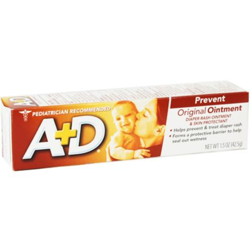 A+D Original Diaper Rash Ointment & Skin Protectant, 1.5 oz