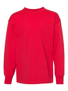 Hanes - MF Girls - Authentic Youth Long Sleeve T-Shirt