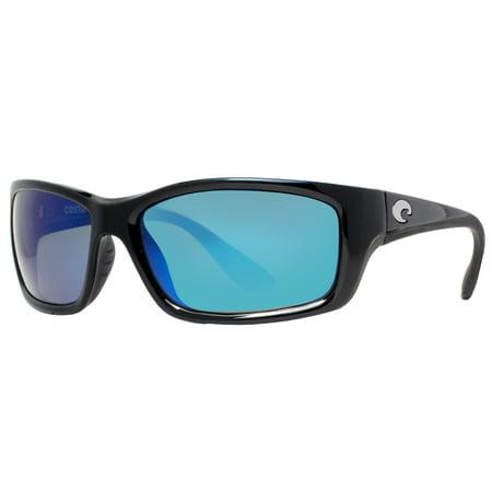 0b7682a85a603 Costa Del Mar - Costa Del Mar Jose OBMGLP JO-11 Black Blue 580G Polarized  Mirrored Sunglasses - Walmart.com