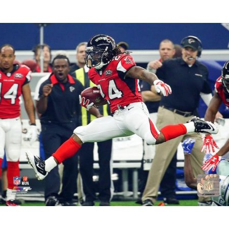 Devonta Freeman 2015 Action Photo Print