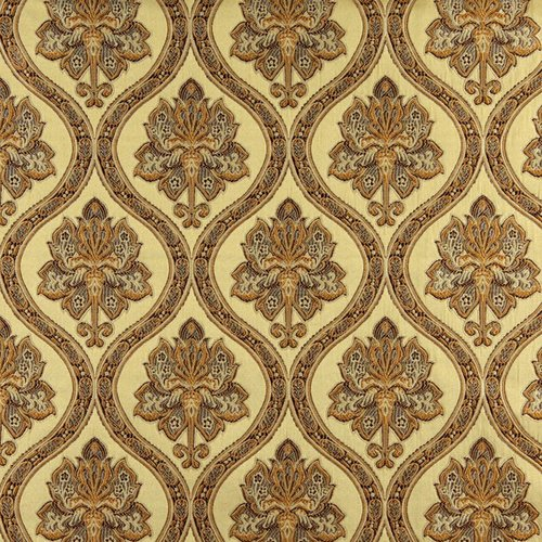 Wildon Home Embroidered Brocade Fabric