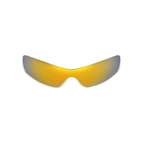 2e6ee462e74d Walleva - Walleva 24K Gold Polarized Replacement Lenses for Oakley ...