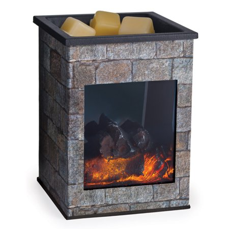 Hearthstone Fireplace Illumination Fragrance Warmer by Candle Warmers Etc. ()