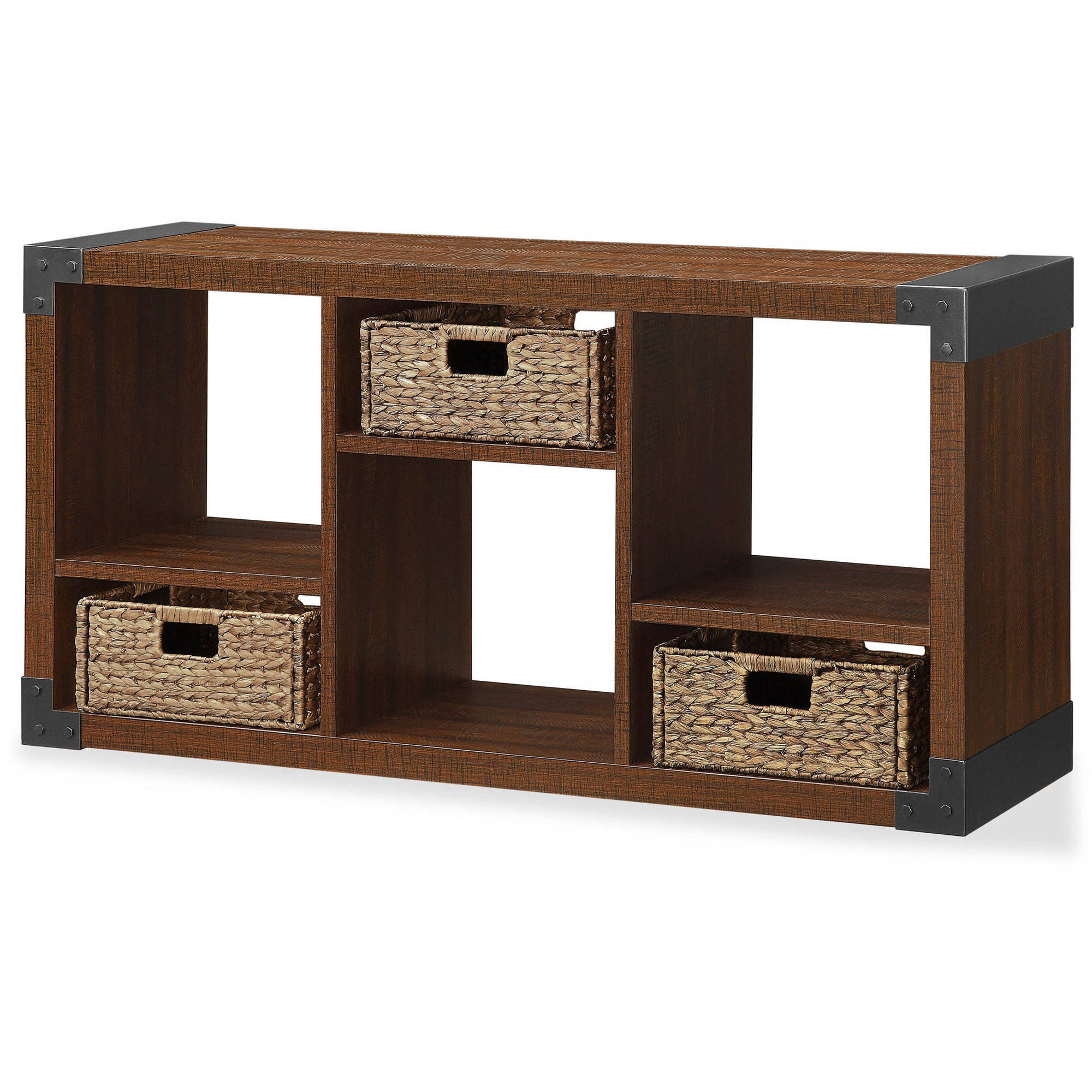 """Landon TV Stand with Cube Organizer for Flat Panel TVs up to 45"""" by Whalen Furniture"""