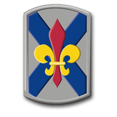 3.8 Inch Army 256th Infantry Brigade Louisiana Vinyl Transfer Decal