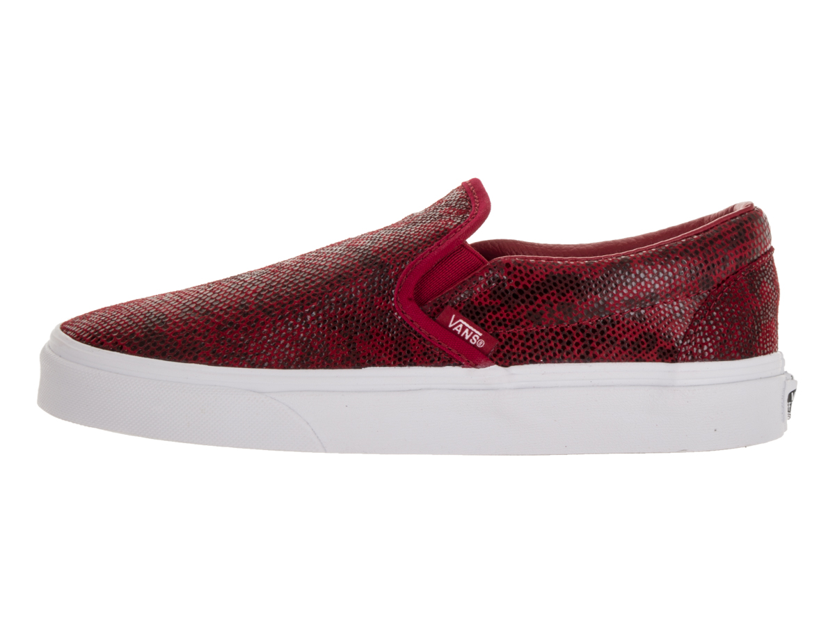 Vans - Vans Classic Slip-On Pebble Snake Chili Pepper Ankle-High Leather  Fashion Sneaker - 7.5M   6M - Walmart.com 4464c405d