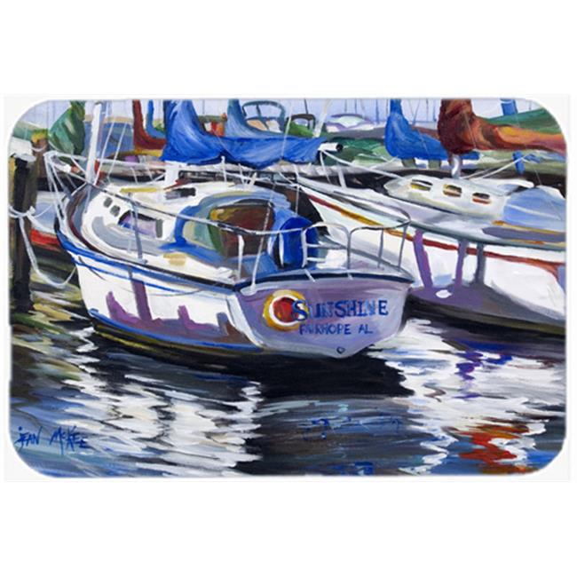 Carolines Treasures JMK1081MP Sunshine Sailboat Mouse Pad, Hot Pad & Trivet - image 1 of 1