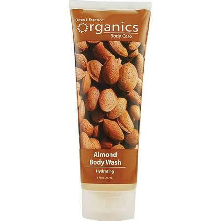 Body Aroma Essence Towelettes (Desert Essence Organics Body Wash Almond 8 fl)