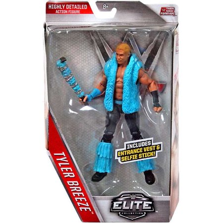 Tyler Breeze Action Figure with Entrance Vest & Selfie Stick! (Halloween Stick Figures)
