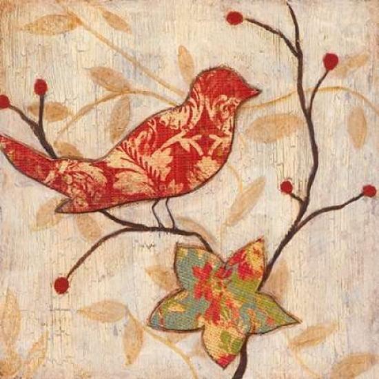 Songbird I Canvas Art Tava Studios 24 X 24 Walmart Com Walmart Com