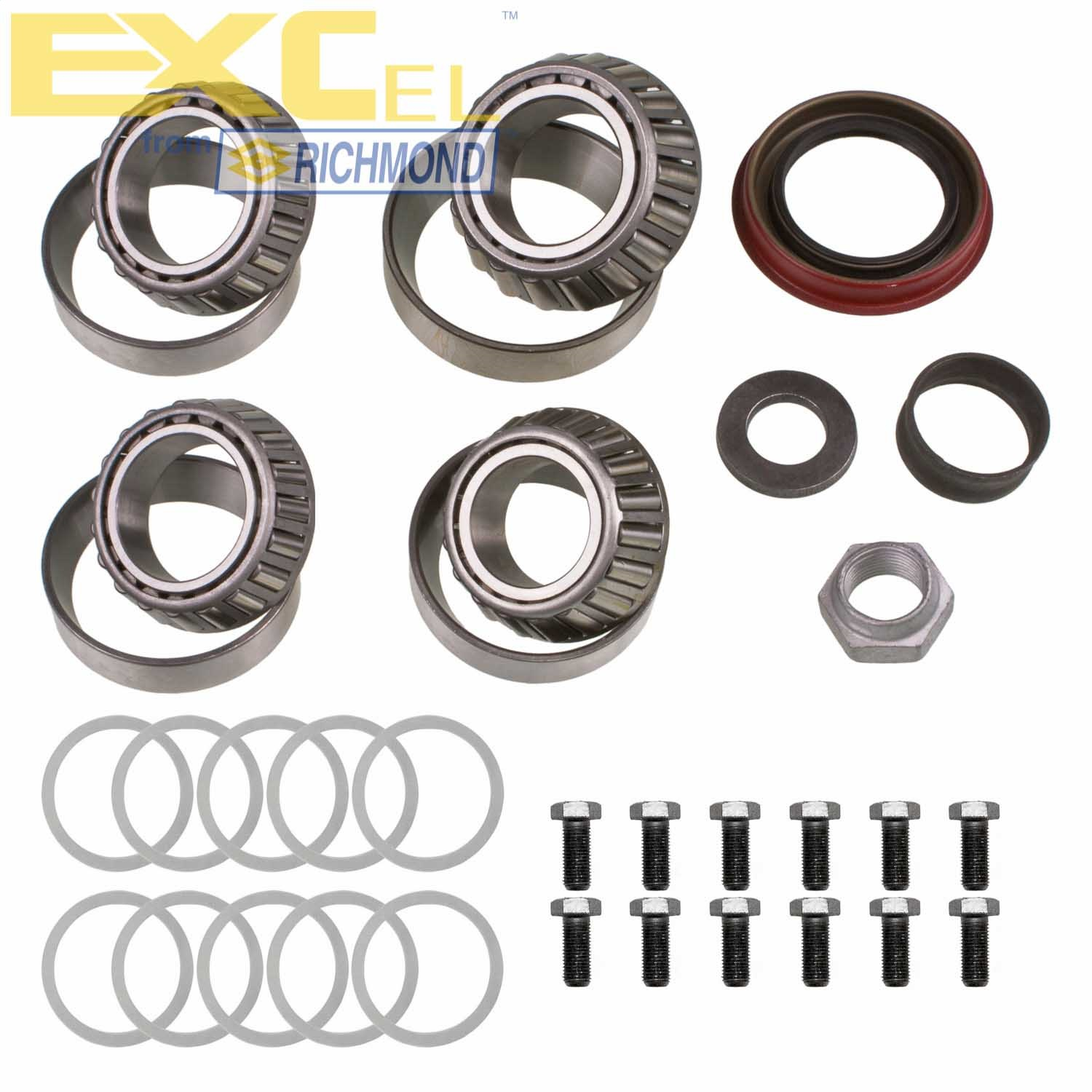 EXCEL from Richmond XL-1020-1 Full Differential Bearing Kit