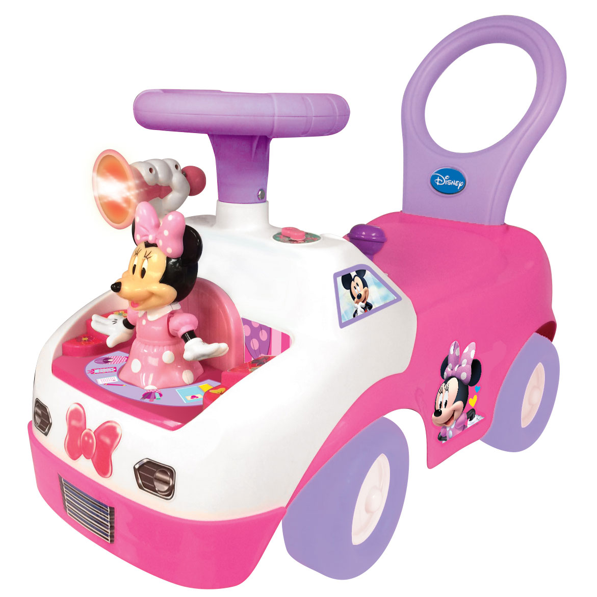 Kiddieland Minnie Mouse Dancing Activity Interactive Ride On Car with Sounds by Kiddieland
