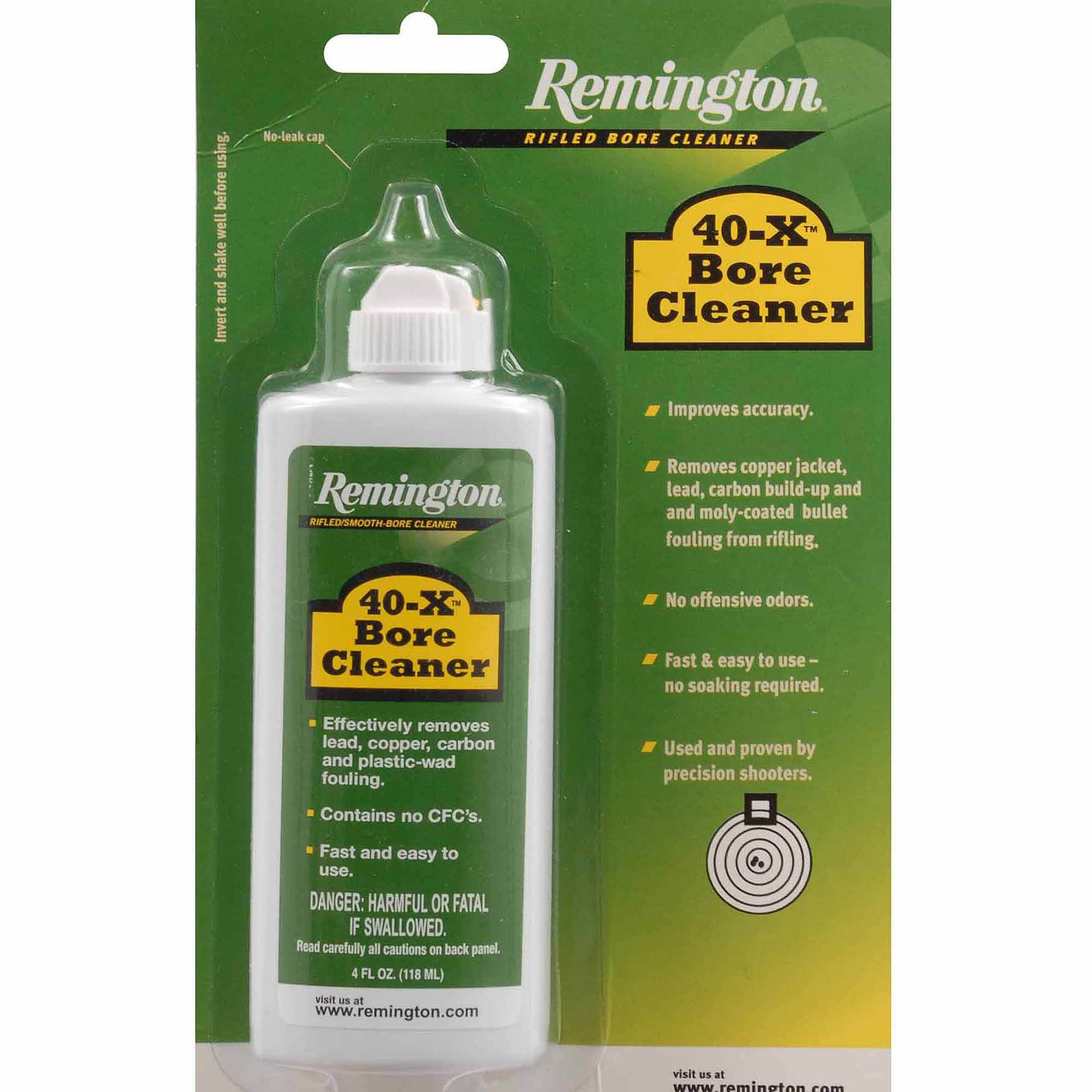 Remington 40-X Bore Cleaner, 4 oz