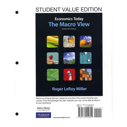 Student Value Edition for Economics Today: The Macro View Plus New Myeconlab with Pearson Etext -- Access Card Package (1-Semester Access)