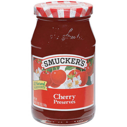 Smucker's Cherry Preserves, 18 oz