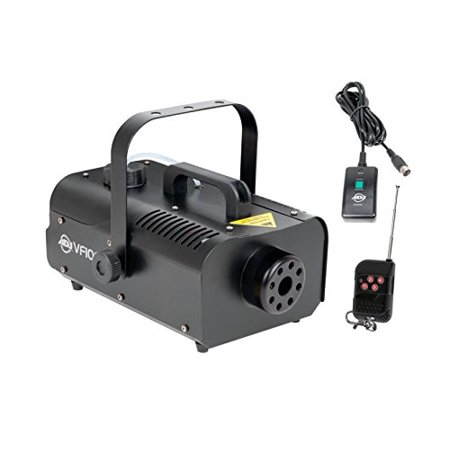American DJ 1000W 1 Liter Medium Size Mobile Smoke Fog Machine w/ Remotes VF1000 (Low Laying Fog Machine)
