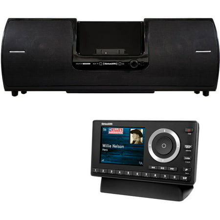 Sirius-XM SXSD2 Dock and Play Radio Boom Box and Sirius-XM XPL1V1 Onyx Plus with Vehicle Kit