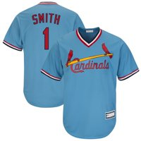 Ozzie Smith St. Louis Cardinals Road Cooperstown Collection Replica Player Jersey - Light Blue