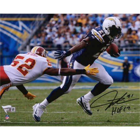 """LaDainian Tomlinson San Diego Chargers Autographed 8"""" x 10"""" Action Photograph with """"HOF 17"""" Inscription - Fanatics Authentic Certified"""