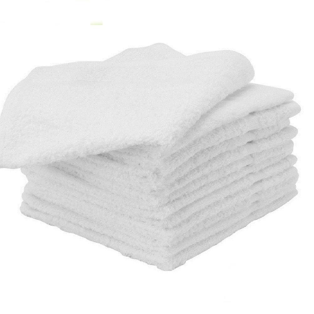 """GHP 100-Pcs 20""""x40"""" White 100% Cotton Absorbent Salon Spa..."""