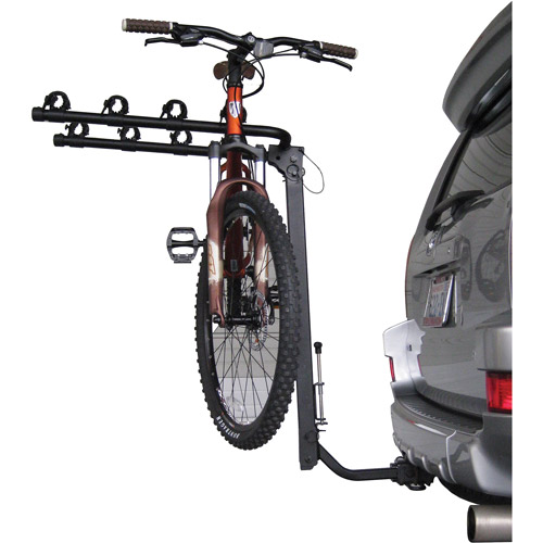 Advantage TiltAWAY 4-Bike Rack with Hitch and Cable Lock