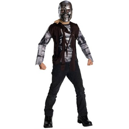 Child's Terminator Salvation T600 Machine Costume - Time Machine Halloween Costume