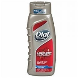 Magnetic Attraction Enhancing Body Wash Men by Dial, 16 Ounce (Pack of 3)