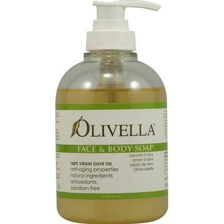 Olivella Face and Body Soap 10.14 fl oz