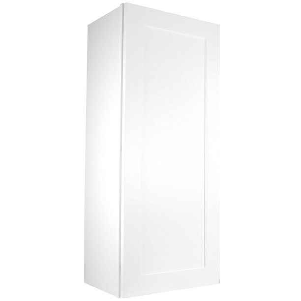 Cabinet Mania White Shaker W0942 Wall Cabinet 9 Wide X 42 Tall X 12 Deep Rta Kitchen Cabinet Ready To Assemble 100 All Wood Construction Lowest Price Online Walmart Com Walmart Com