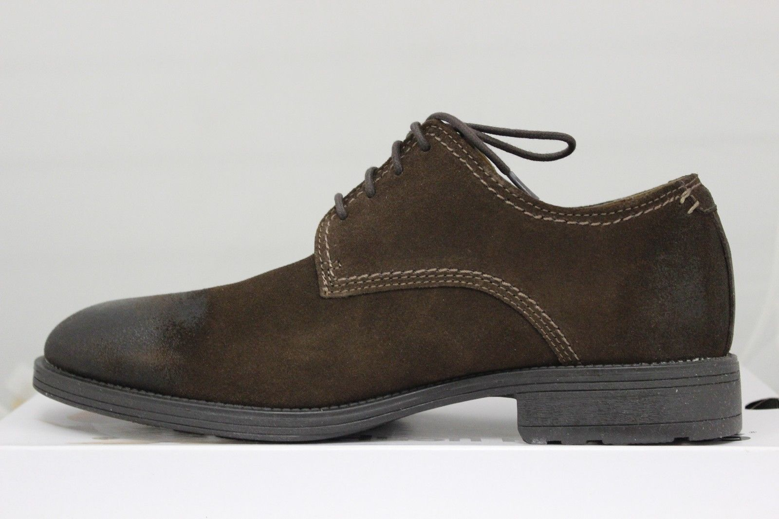 Men's Plane Oxford PL Dark Brown Suede H103620