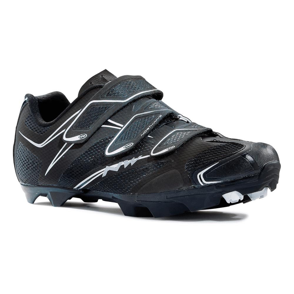 Northwave Scorpius 3S Mountain MTB Mens Shoes US 12/EU 45 Black