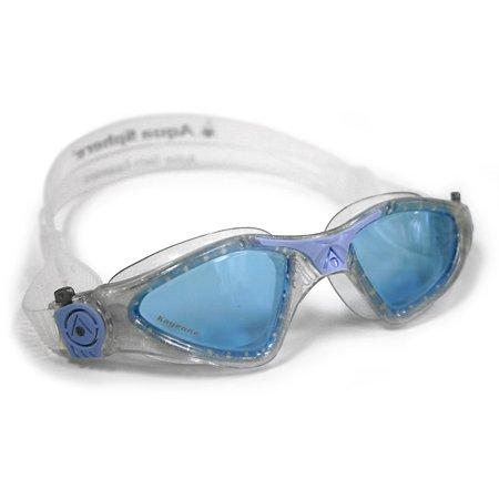 Aqua Sphere Kayenne Lady Blue Lens Swim Goggle - Glitter/Powder