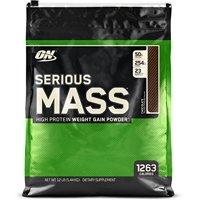 Optimum Nutrition Serious Mass Protein Powder, Chocolate, 50g Protein, 12lb, 192oz