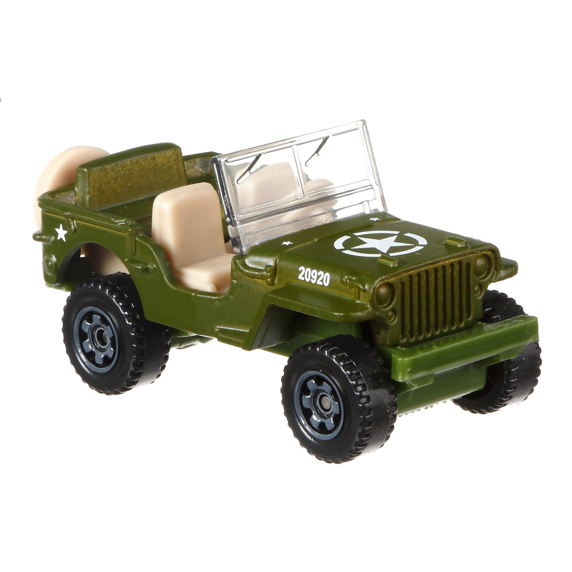 Matchbox Jeep Assortment (Styles May Vary) by Mattel