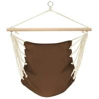 "Yosoo Hammock Chair 39.4""x31.5"" Cotton Brown"