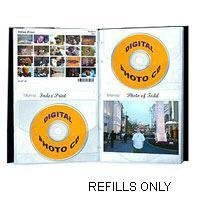Pioneer Photo Albums Refill Pages for CD48 Refill - 24CDR-RE
