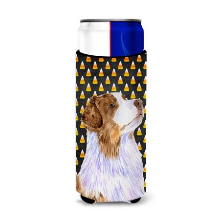 Australian Shepherd Candy Corn Halloween Portrait Ultra Beverage Insulators for slim cans LH9059MUK](Woolworths Australia Halloween)