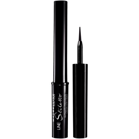 Maybelline New York Line Stiletto Ultimate Precision Liquid Eyeliner, Blackest Black, 0.05 Fl Oz - Halloween Headquarters Nyc