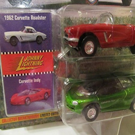 Johnny Lightning Classic Customs Corvette: 1962 Corvette Roadster and Corvette Lady