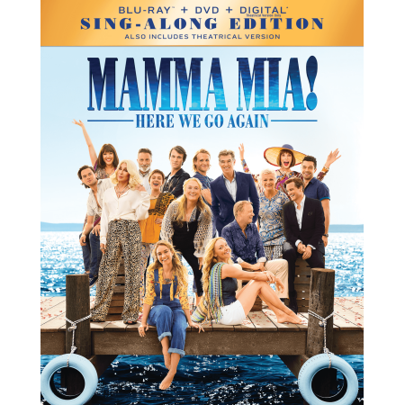 Mamma Mia! Here We Go Again (Blu-ray + DVD + Digital) - Mamma Mia Halloween