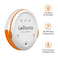 Levana Oma™ Sense Portable Baby Breathing Movement Monitor with Vibrations and Audible Alerts Designed to Stimulate Baby and Alert Parents