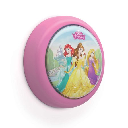 - Philips Disney Princess Battery Powered LED Push Touch Night Light Nightlight